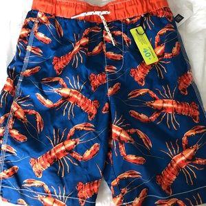 Gap Kids swim trunks NWT size MED (8)